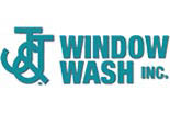 J & J WINDOW WASH logo