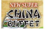 NEW SUPER CHINA BUFFET logo