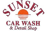 Sunset Car Wash logo