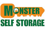 Monster Self Storage logo