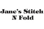 Janes Stitch And Fold logo