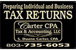 CARTER CPA TAX & ACCOUNTING logo