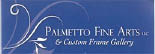 Palmetto Fine Arts & Custom Frame Gallery logo