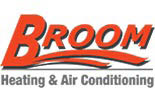 BROOM HEATING & AIR logo