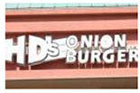 H.D.'S ONION BURGER logo
