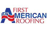 FIRST AMERICAN ROOFING logo