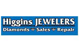 HIGGINS JEWELERS logo