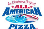 ALL AMERICAN PIZZA logo