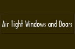 AIR TIGHT WINDOWS AND DOORS logo
