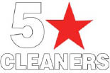 5 STAR CLEANERS logo