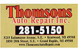 THOMSON'S AUTO REPAIR logo