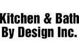 KITCHEN AND BATH BY DESIGN logo