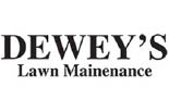 DEWEY'S SNOW PLOWING logo