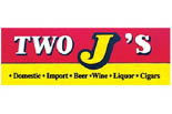 TWO J'S BEVERAGE AND PARTY SHOP logo