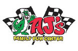 AJ'S FAMILY FUN CENTER logo