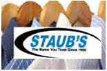 STAUBS DRY CLEANERS logo
