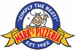 Mark's Pizzeria logo