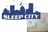 SLEEP CITY logo