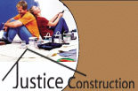 Justice Construction logo