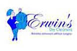 Erwin's Dry Cleaners logo