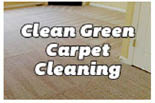 Clean Green Carpet Cleaning logo