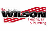 WILSON HEATING, AIR, & PLUMBING logo