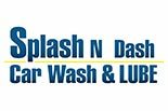 SPLASH N DASH CAR WASH & LUBE logo