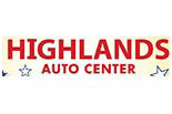 HIGHLANDS AUTO CENTER logo