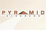 PYRAMID CLEANERS - GARLAND logo