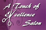 A TOUCH OF EXCELLENCE  SALON logo
