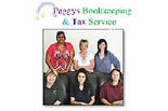 PEGGY'S BOOKKEEPPING TAX SERVICE logo