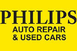 PHILLIPS AUTO REPAIR & USED CARS logo
