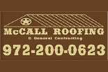 MCCALL ROOFING & GENERAL CONTRACTING logo