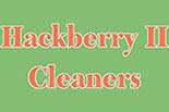 HACKBERRY II CLEANERS logo