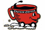 CRUISIN COFFEE logo