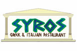Syros Greek & Italian Restaurant logo