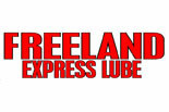 Freeland Express Lube logo