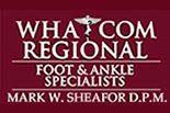 NORTHWEST FOOT CLINIC DR. SHEAFOR logo