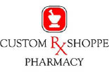 CUSTOM RX SHOPPE PHARMACY logo