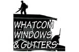 WHATCOM  WINDOW & GUTTER CLEANING logo