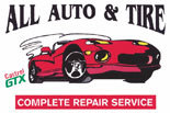 ALL AUTO & TIRE logo