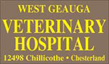 WEST GEAUGA VETERINARY logo