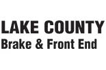 LAKE COUNTY BRAKE & FRONT END logo