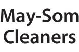 MAY-SOM CLEANERS logo