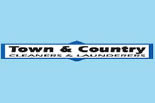 TOWN & COUNTRY CLEANERS & LAUNDERERS logo