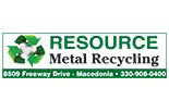 RESOURCE METAL RECYCLING logo