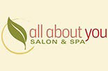 ALL ABOUT YOU SALON & SPA logo