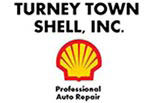 Turney Town Shell logo
