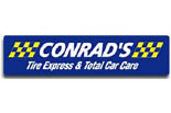 CONRAD'S TIRE EXPRESS & TOTAL CAR CARE logo
