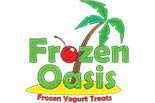 FROZEN OASIS FROZEN YOGURT TREATS logo